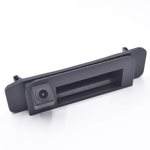 Backup camera handle for Mercedes C-Class W205 and CLA W117