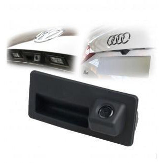 Rear view camera with handle for Audi A3, A4, A5, A6, Q3, Q5, Q7