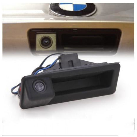 Rear view camera boot handle BMW