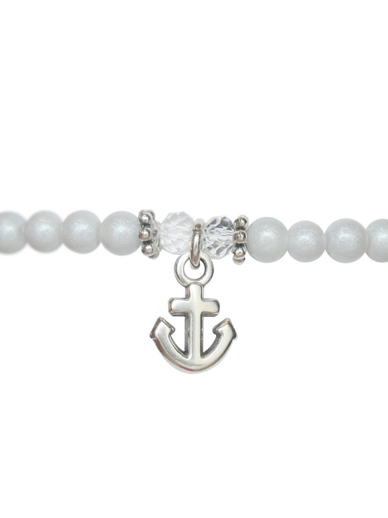 Pale Blue Anchor • Bracelet