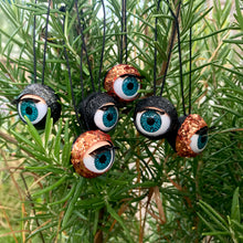 Load image into Gallery viewer, Halloween Eyebaubles - Eyeball halloween decorations, tree baubles.