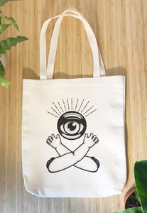 Jawline Jewellery Large Canvas Tote Bag