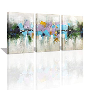 Yatehui Sea Animal Wall Art Ocean Theme 4 Panel Seahorse Whale Crab Lobster Sealife Canvas Prints Bathroom Pictures Ready to Hang 12 x 12 Inches