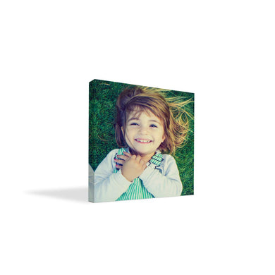 BuildASign Your Photo on Custom Personalized Canvas Prints (8x8) 0.75