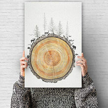 Load image into Gallery viewer, signwin Canvas Wall Art Nordic Style Canvas Prints Home Artwork Decoration for Living Room,Bedroom - 16x24 inches