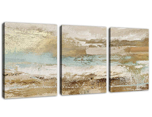 "Modern Abstract Canvas Wall Art Vintage Abstract Prints Canvas Pictures Artwork Contemporary Wall Art for Bedroom Living Room Bathroom Decoration Framed Ready to Hang 12"" x 16"" x 3 Pieces"