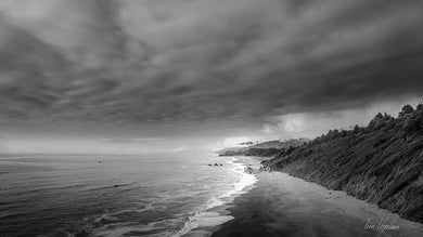 Fine Art Photography Canvas Print Pacific Coastline by artist Tim Vogelaar