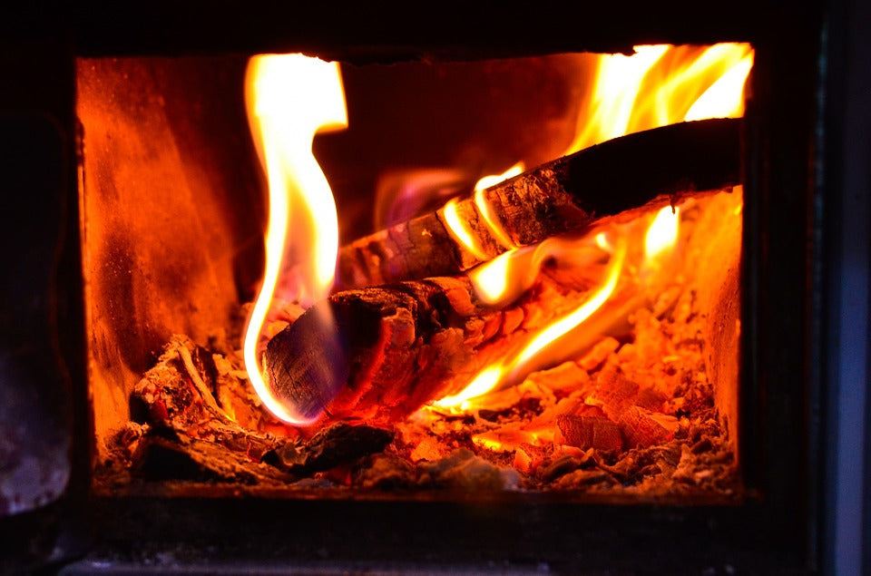 How do you keep your indoor stove fire burning longer?