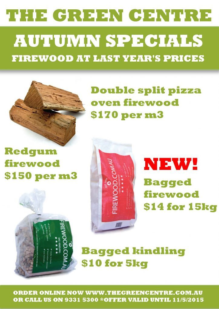 Autumn Firewood Sale