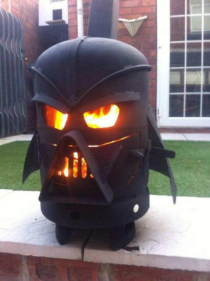Darth Vader - Keeping you warm... in a fun way!!