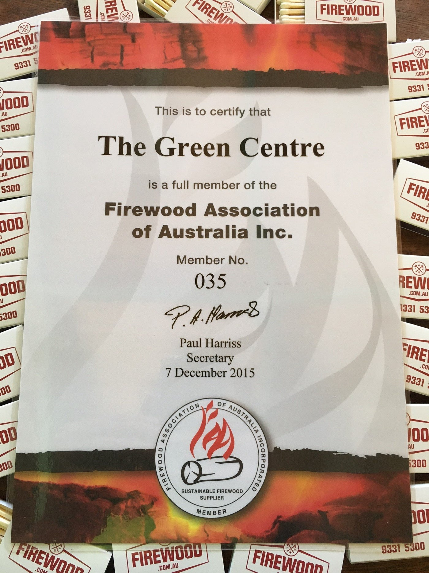 Firewood Association of Australia Inc