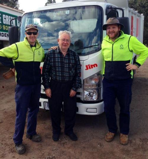 "A NEW TRUCK FOR THE GREEN CENTRE ""JIM"""