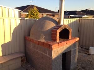 Hand Made Pizza Oven