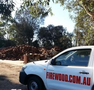 Redgum Firewood (Sustainable) - order on-line