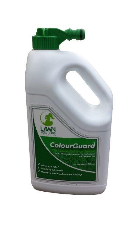 ColourGuard Lawn Tint - Before and After...