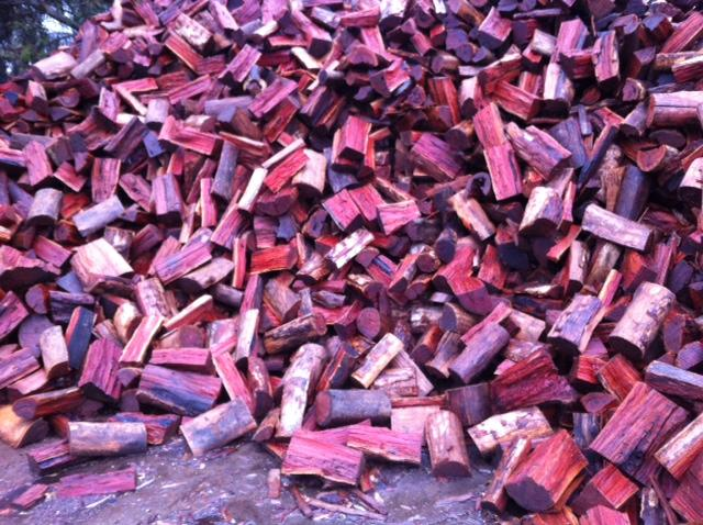 Is our Redgum Firewood Wet??