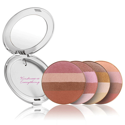 Limited Edition Prefilled Silver Compact with Bronzer