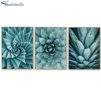 "HOMFUN Diamond Paint 100% Full Square/Round Drill 5D DIY Diamond Painting ""Cactus flower"" 3D Embroidery Cross Stitch Home Decor"