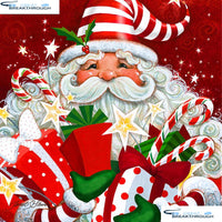 "HOMFUN Full Square/Round Drill 5D DIY Diamond Painting ""Santa Claus"" 3D Embroidery Cross Stitch 5D Decor Gift A16683"