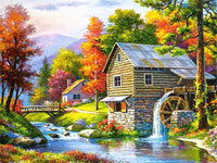 Full Square Diamond Painting Scenic Winter Cross Stitch 5D Embroidery Sale Scenery Rhinestones - Great Breakthrough
