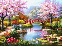 Diamond Painting Scenic Landscape Diy Full Diamond Embroidery Scenery Mosaic Picture Of Rhinestone Home Decor - Great Breakthrough