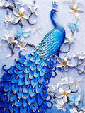 Diamond Mosaic Diamond Painting Animals Square Stones Peacocks Hobby And Handicraft Pictures With Rhinestones - Great Breakthrough