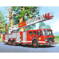 "5D DIY Full Square/Round Drill Diamond Painting Cross Stitch ""Fire Truck"" Rhinestone Embroidery Home Mosaic Decor Gift"