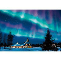 "Full Square/Round Drill 5D DIY Diamond Painting Scenic "" Aurora Scenery "" Diamond Embroidery Cross Stitch - Great Breakthrough"