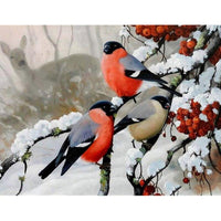 "Full Square/Round Drill 5D DIY Diamond Painting Animals "" Bird "" Embroidery Cross Stitch - Great Breakthrough"