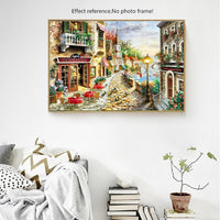 HUACAN Diamond Painting City Landscape Diamond Embroidery Scenery Handicraft Full Square New Arrival Home Decor