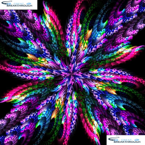 "HOMFUN Full Square/Round Drill 5D DIY Diamond Painting ""Mandala "" 3D Embroidery Cross Stitch 5D Home Decor Gift A09265"