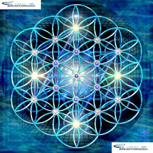"HOMFUN Full Square/Round Drill 5D DIY Diamond Painting ""Religious Mandala"" 3D Embroidery Cross Stitch 5D Decor Gift A13185"
