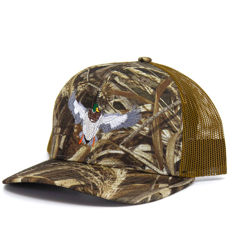 Barbed Wire Hat: Blaze Orange/Realtree