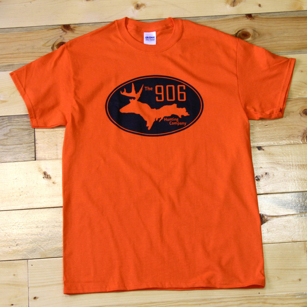 Orange Logo T-Shirt