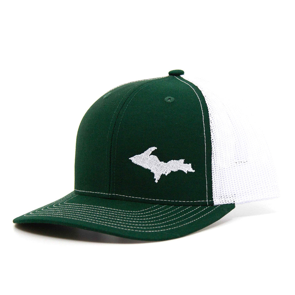 """UP"" Hat: Green/White"
