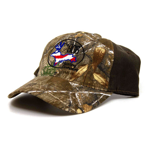 Barbed Wire Hat: Black/Realtree
