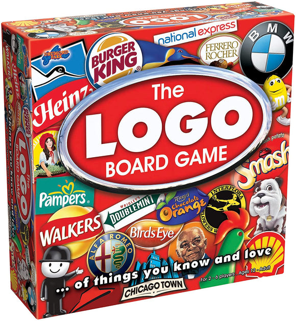DRUMMOND PARK T72985 THE LOGO BOARD GAME