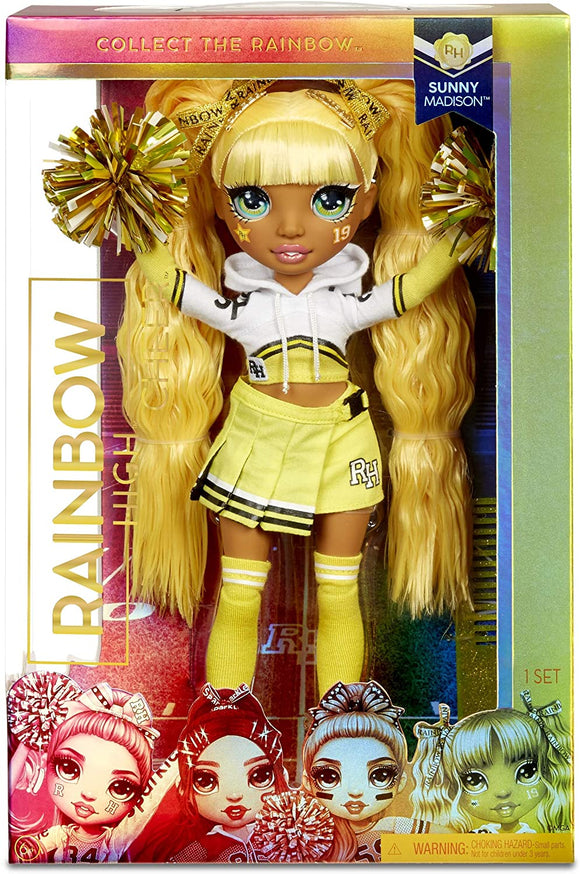 MGA 572053EUC RAINBOW HIGH CHEER LEADER DOLL SUNNY MADISON