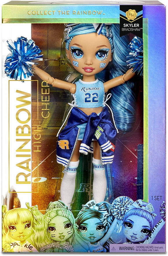 MGA 572077EUC RAINBOW HIGH CHEER LEADER DOLL SKYLER BRADSHAW