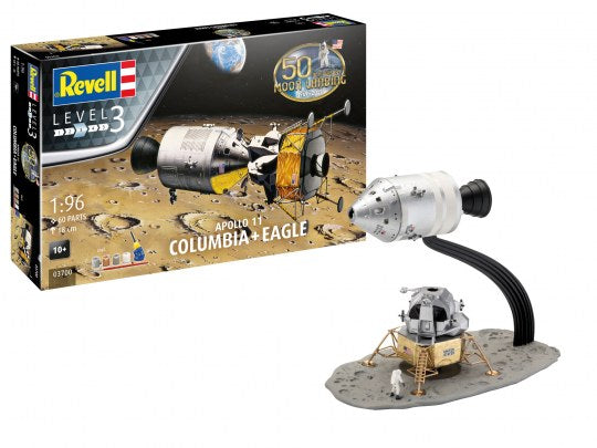 Revell 03700 Gift Set - Apollo 11 Columbia & Eagle