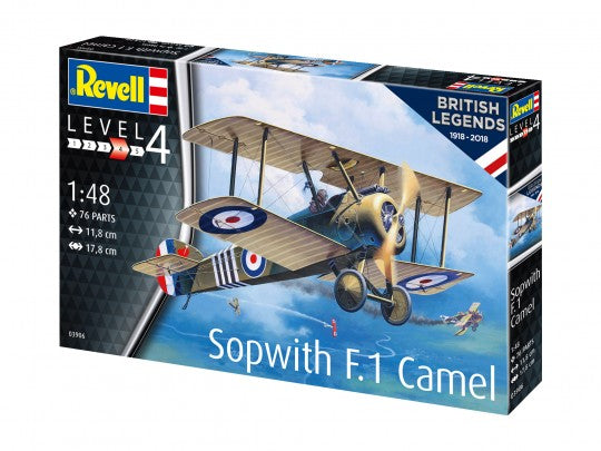 Revell 63906 Model Set - British Legends: Sopwith F.1 Camel