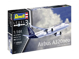 "Revell 63942 Model Set - Airbus A320 Neo ""Lufthansa"" (New Livery)"
