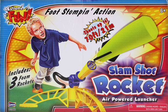 TOYMASTER 91066 SLAM SHOT STOMP ROCKET