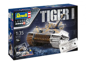 "Revell 05790 Gift Set - Tiger 1 ""75th Anniversary"""