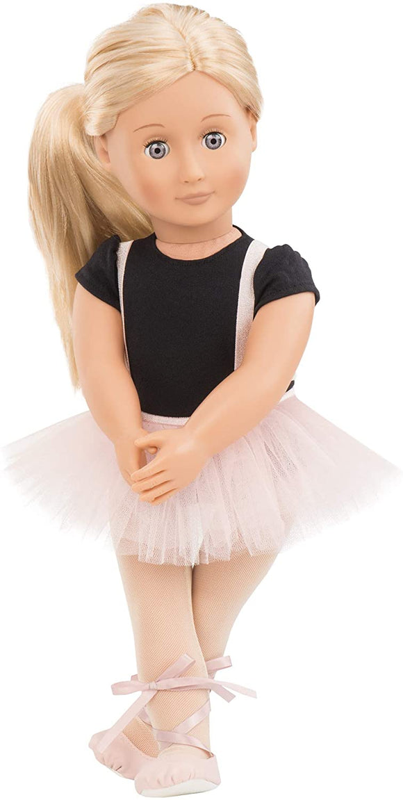 OUR GENERATION 31076 VIOLET ANNA DOLL