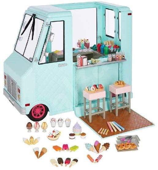 OUR GENERATION 37252 SWEET STOP ICE CREAM TRUCK