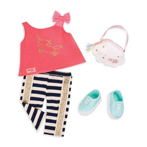 OUR GENERATION 30322 WISH COME TRUE OUTFIT