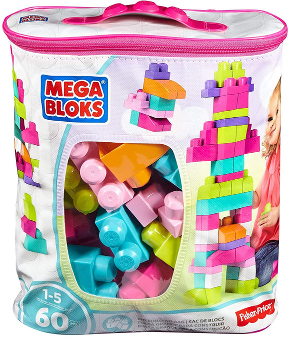 MEGA BLOKS DCH54 PINK BIG BUILDING BAG