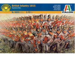 ITALERI 6095 WATERLOO BRITISH INFANTRY 1/72 SCALE