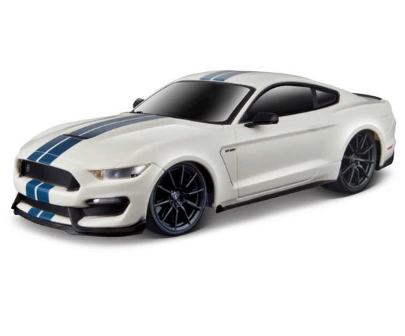 MAISTO 81088 FORD SHELBY GT350 REMOTE CONTROL CAR 1:24TH SCALE